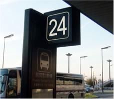 成田空港第1ターミナル17番バス乗り場